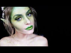 Halloween Makeup Tutorial: Woodland Fairy - YouTube