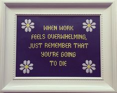 10  Times Cross Stitches Were So Badass, They Were Perfect For 21st Century