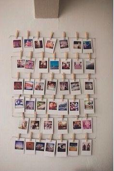 decoração do quarto com fotografias