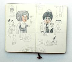 "Art Journal | Jenny Meilihove: ""Eating"""
