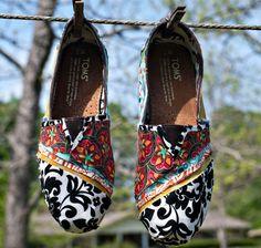 Cubiertos de tela de Tom Shoes - estilo 4