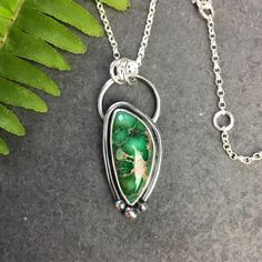 💚 Damele 💚 I'm now offering the Free Shipping Guarantee in the US! Free delivery for orders over £30 in the UK too! Turquoise Pendant, Turquoise Gemstone, Turquoise Necklace, Opal Necklace, Silver Chain Necklace, Pendant Necklace, Silver Work, Jewelry Branding, Sterling Silver Necklaces
