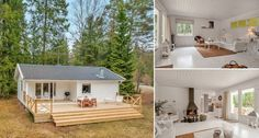 A-Small-White-House-In-The-Woods-of-Sweden-696x373