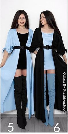 Twin Girls Outfits, Girly Outfits, Cute Casual Outfits, Matching Outfits Best Friend, Best Friend Outfits, Pretty Prom Dresses, Cute Dresses, Kpop Outfits, Fashion Outfits