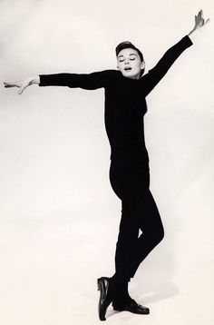 Audrey Hepburn in Funny Face... One of my favorite Audrey movies