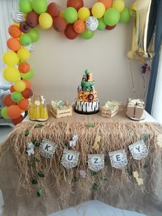 Safari Party, Arya, Baby Birthday, Toddler Boy Birthday