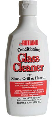 I don't usually do product endorsements - but I bought this based on amazon.com recommendations, and I LOVE it.  I have a 2-way gas fireplace that had become dull - couldn't even see the flames.  I used this to clean the glass, and they now are as clear as windows!  Also cleaned with glass on the oven, and it's like it's brand new.  It's supposed to work great on glass shower surrounds as well. O.M.G. Amazing!