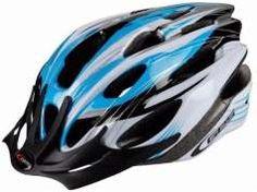 Casco de bicicleta MTB GES - Azul / Blanco / Negro