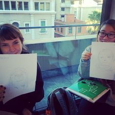 Dibujando en la clase