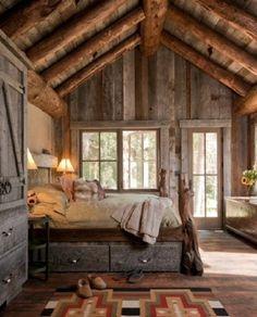 спальня деревенский стиль - Поиск в Google