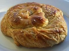 tahinli ekmek--love this site of turkish recipes in english! Greek Sweets, Greek Desserts, Fun Desserts, Armenian Recipes, Turkish Recipes, Greek Recipes, Baking And Pastry, Bread Baking, Sweets Recipes