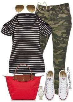 4f2fc48b32eec Plus Size Camo Pants Outfits - Plus Size Fashion for Women - alexawebb.com