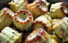 Mini cannelés thon et curry
