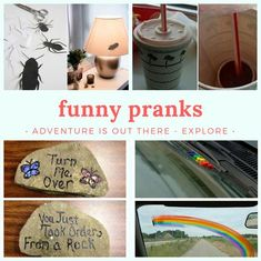 Top 10 good pranks to play on friends and family Pranks To Pull, Good Pranks, Funny Pranks, Flirting Humor, Flirting Quotes, Camping Pranks, Bff, Office Jokes, Backgrounds Girly