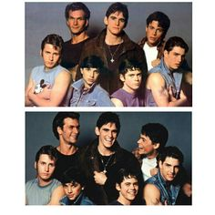 Two-Bit's face barely changes The Outsiders Greasers, The Outsiders 1983, 80s Movies, Good Movies, Movie Tv, The Outsiders Imagines, Dallas Winston, Greaser Girl, Ralph Macchio