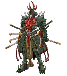 Samurai Troopers  / Nazza