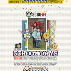 Elementary School Days by Mrivas at The Lilypad