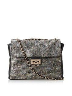 39% OFF Nila Anthony Women's Chain Strap Bag, Black