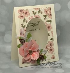 Debbie's Designs: Paper Pumpkin May 2019 Kit Alternatives and Last Chance Products, Only Two Days Remain! Handmade Birthday Cards, Greeting Cards Handmade, Birthday Gifts, Stampin Up Paper Pumpkin, Pumpkin Cards, Stamping Up Cards, Paper Cards, Cards Diy, Flower Cards