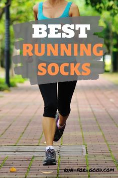 Get recommendations for the best running socks that will help your running performance and keep your feet dry, comfortable, and blister-free. Best Socks For Running, Running Socks, Running Gear, How To Start Running, Running Workouts, Yoga Workouts, Running Apparel, Workout Attire, Workout Gear