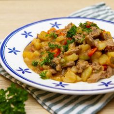 Frisk, Chorizo, Stew, Risotto, Curry, Meat, Ethnic Recipes, Pots, Curries