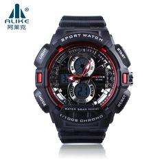 2016 Brand alike Fashion Watch Men 50M Waterproof Sports Military Watches S-Shock Men's Luxury Quartz Led Digital Wrist Watch