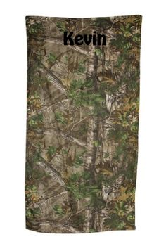 HUNTERS Special Camouflage Beach Towel - Personalized by CACBaskets on Etsy Camo Party, Oversized Beach Towels, Hunters, Camouflage, Outdoor Blanket, Trending Outfits, Unique Jewelry, Handmade Gifts, Etsy