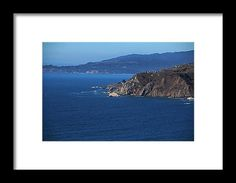 marin headlands overlook, san francisco, california, pacific ocean, cliff, nature, landscape, michiale schneider photography, interior design, framed art, wall art
