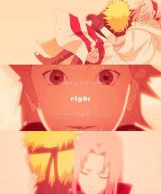 Naruto x Sakura | NaruSaku | Heaven & Earth | Orange / Yellow & Pink / Red | OTP