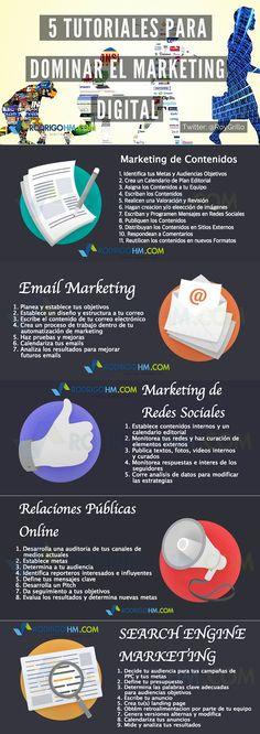 5 tutoriales para dominar el Marketing Online