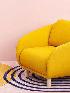Joanna Laajiston suunnittelema Bobo Wool -nojatuoli.