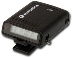 Motorola Pager. had a red one.