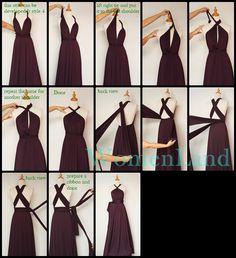 infinity wrap dress style