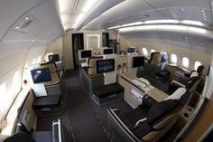 A380 Lufthansa First Class Cabin Interior