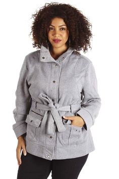 CLASSIC BELTED JACKET | Danice Stores