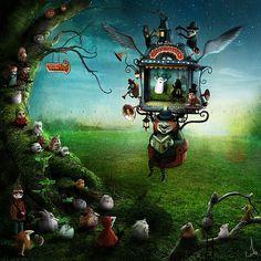 The art of storytelling; The Whimsical Art of Alexander Jansson