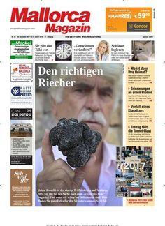 Die Titelseite der aktuellen Ausgabe des Mallorca Magazin La portada de la nueva edición del Mallorca Magazin #mallorcamagazin #Mallorca Auch als #epaper zum sofort Loslesen - weltweit: