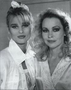 1987 Press Photo Knots Landing Nicollette Sheridan Michelle ...