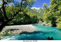 Esquel river, Los Alerces National Park, Chubut Province, Patagonia, Argentina.