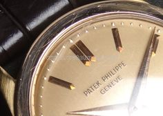 50's PATEK PHILIPPE R.96 RG cal.12-120 Pink dial unpolished! 2016.7.2.