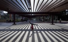 A nova Praça Roosevelt, São Paulo, Brasil. Lalo de Almeida/Folhapress