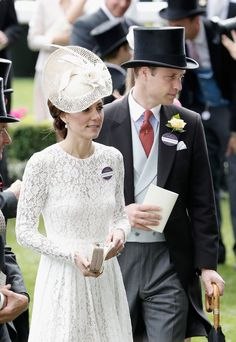 Kate Middleton Can't Help but Beam at Prince William During the Royal Ascot