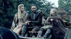 Ecbert : King... so what Vikings 3x1