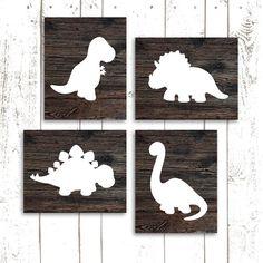 Dinosaur Art Print Dinosaur Nursery Prints by MooseberryPrintShop, $50.00
