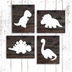 Dinosaur Art Print Dinosaur Nursery Prints by MooseberryPrintShop, $50.00