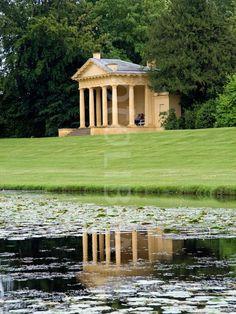 Lakeside Pavilion Stowe Gardens.