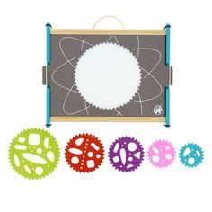 Mes spirales magiques - Une mallette atelier pour créer des figures  géométriques à colorier - 25 € e0473867249