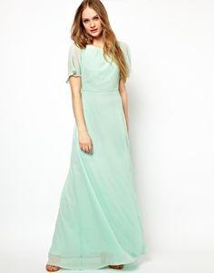 Agrandir Jarlo - Maxi robe empire avec ornements sur les épaules