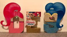 Shimmer & Shine Themed Letter Decor by PartiesNPresents on Etsy Shimmer And Shine Decorations, 5th Birthday, Birthday Parties, Shimmer N Shine, Sleepover, Party Ideas, Gift Ideas, Best Gifts, Birthdays