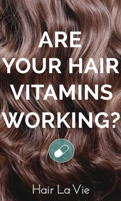 Have you heard the buzz about hair vitamins? Find out the truth and what YOU can do to grow natural, healthy hair. #HairLaVie